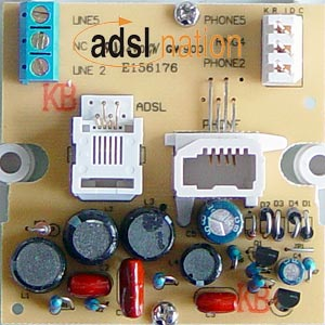 Inside ADSL Nation XTF-68 Filter